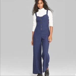 Wild Fable Navy Blue Jumpsuit Size Small